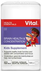 vital brain health and concentration, kids minds, mental performance, healthy, vital, children, parents, kids supplement, concentration