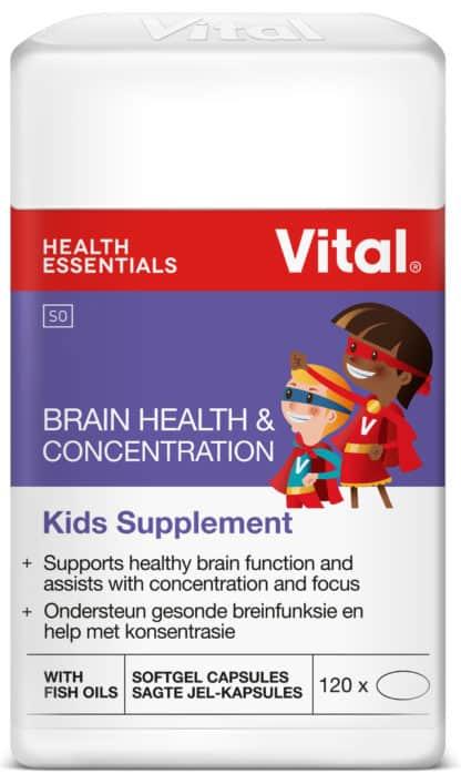 vital brain health and concentration, kids minds, mental performance, healthy, vital, children, parents, kids supplement, concentration