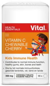 vital health foods, vital vitamin c cherry, immune support, kids immune, adult immune, vitamin c, cherry, chewies,flavoursome, vital, healthy, kids, family, daily vitamin