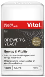 vital brewers yeast, energy, nervous system support, metabolism