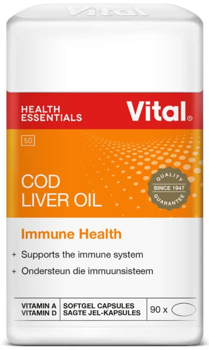 vital cod liver oil, immune system, good health