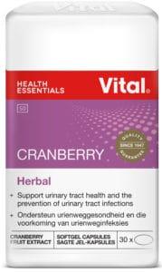 vital craberry, vitamins, uti, urinary tract health