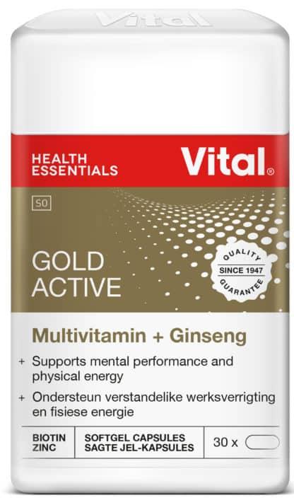 vital gold, multivitamin, energy, good health, halaal