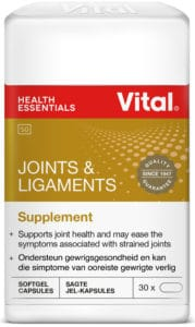 vital joints and ligaments, vital vitamins, vitamins, joints, good health, strained joints