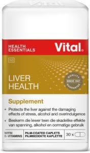 vital liver health, milk thistle