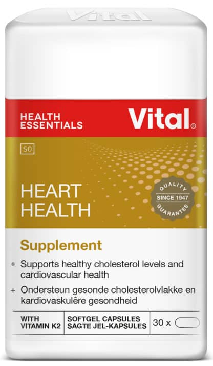 vital heart health, vitamins, halaal, good health