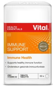 vital immune support, immune health, vitamin c