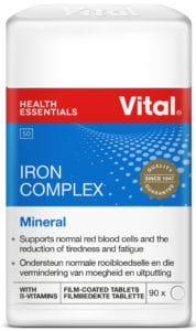 vital iron complex, red blood cells, health, happiness, minerals,