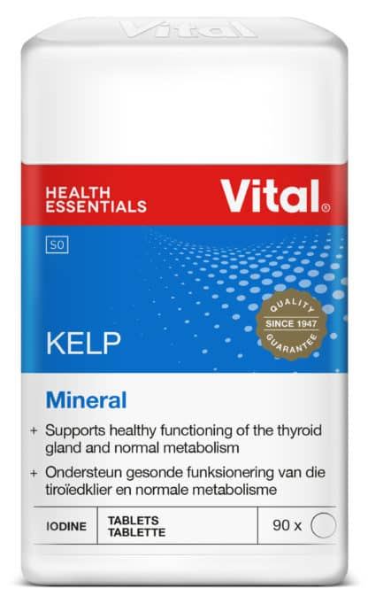 vital kelp, thyroid support, healthy, minerals