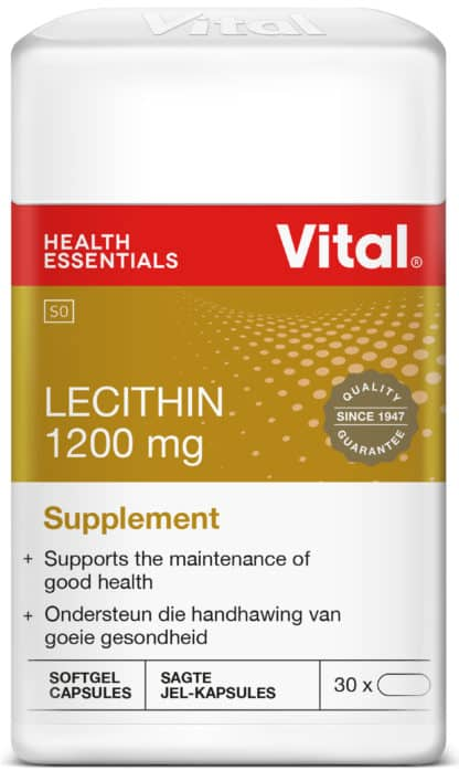 vital lecithin, vitamins, supplements, halaal, good health