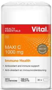 vital Maxi C, vitamin c 1000 mg, immune support