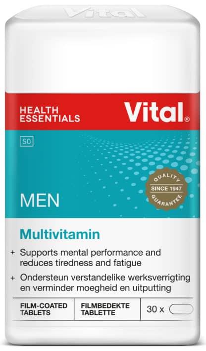 vital men, multivitamin, vitamins, vital, minerals,