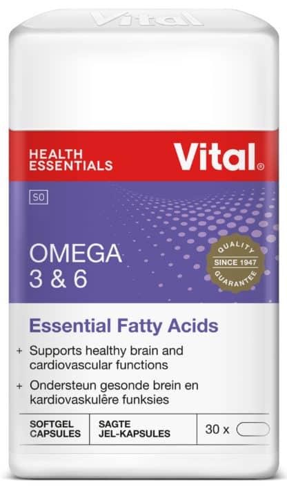 omega 3 and 6, vital health foods, vital, brain health, heart health, cardiovascular, blood circulation