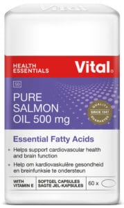 vital salmon oil, brain health, cardiovascular health, blood circulation