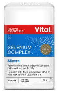 Vital Selenium complex, healthy cells, nor