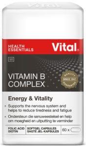 vital vitamin B complex, vital